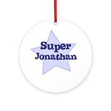 Super Jonathan Ornament (Round)