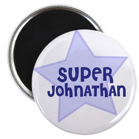 "Super Johnathan 2.25"" Magnet (10 pack)"