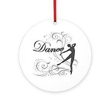 Dance - scrolls Ornament (Round)