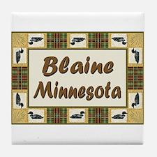 Blaine Loon Tile Coaster