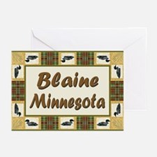 Blaine Loon Greeting Cards (Pk of 10)