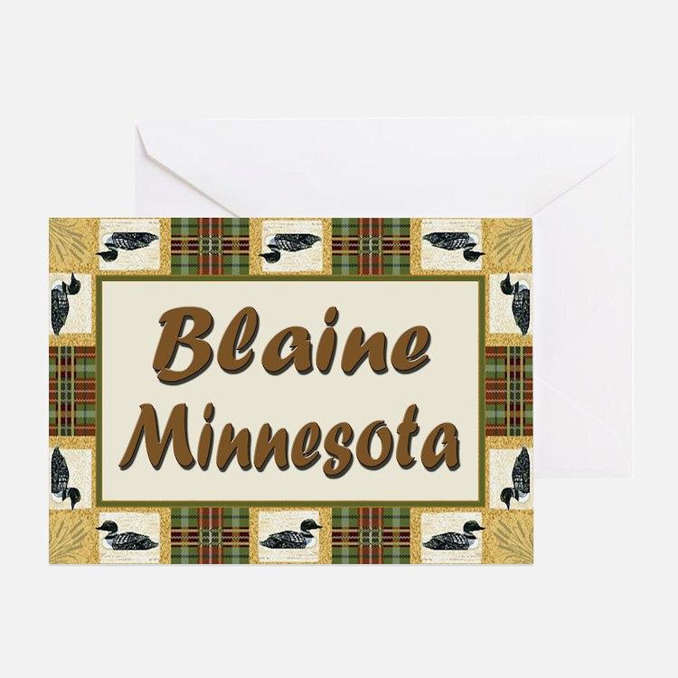 Blaine Loon Greeting Card