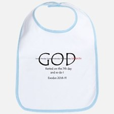 Wee Little Witness 7th Day Bib