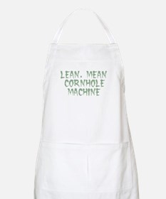 Lean Mean Cornhole Machine Apron