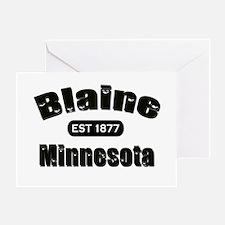 Blaine Established 1877 Greeting Card