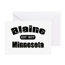 Blaine Established 1877 Greeting Cards (Pk of 20)