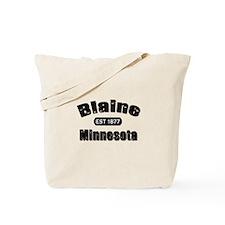 Blaine Established 1877 Tote Bag