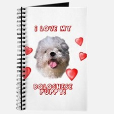 Bolognese puppy love Journal
