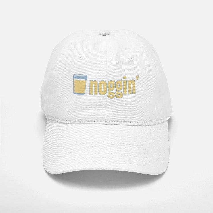 Egg Nog / Noggin' Baseball Baseball Cap