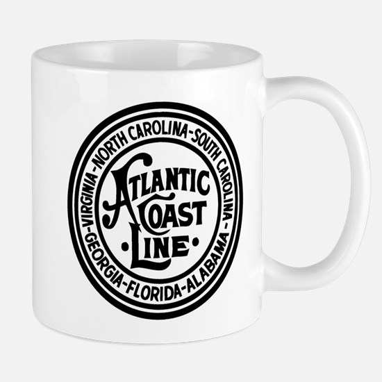 Atlantic Coast Rwy six states Mugs
