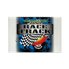Race Track Rectangle Magnet