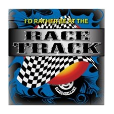 Race Track Tile Coaster