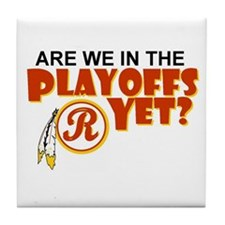 Funny Redskins Tile Coaster