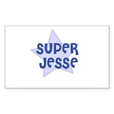 Super Jesse Rectangle Decal