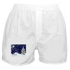 Xmas Moose Boxer Shorts