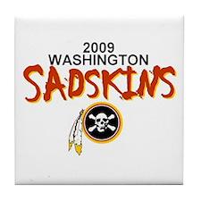 Redskins Tile Coaster
