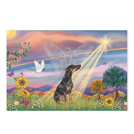 Cloud Angel - Dobie (B) Postcards (Package of 8)