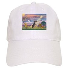 Cloud Angel - Dobie (B) Baseball Cap