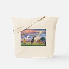 Cloud Angel - Dobie (B) Tote Bag
