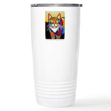 Cat-of-Many-Colors Travel Mug