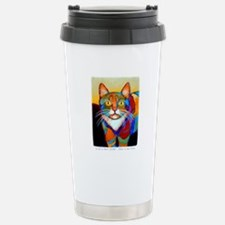 Cat-of-Many-Colors Travel Mug