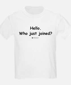 Who just joined? -  Kids T-Shirt