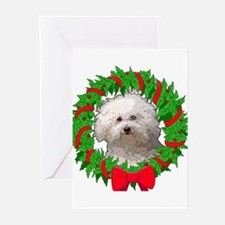 Bolognese Christmas Greeting Cards (Pk of 10)