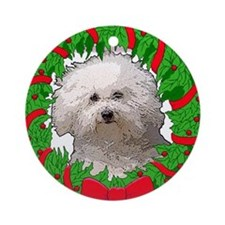 Bolognese Christmas Ornament (Round)