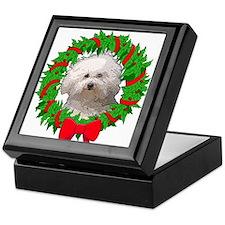 Bolognese Christmas Keepsake Box