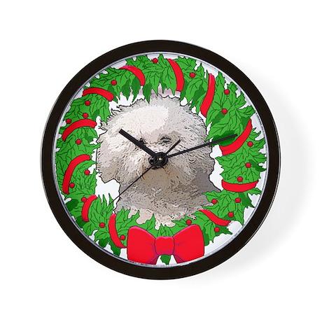 Bolognese Christmas Wall Clock