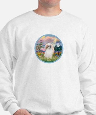 Cloud Angel with Lilly Sweatshirt