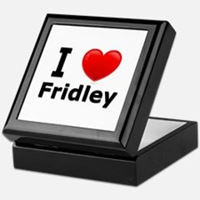 I Love Fridley Keepsake Box