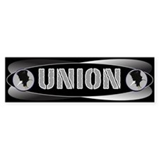 UNION-a Bumper Bumper Sticker