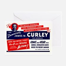 James Michael Curley Greeting Card