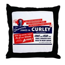 James Michael Curley Throw Pillow