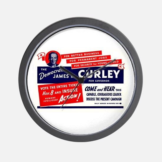 James Michael Curley Wall Clock
