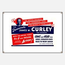 James Michael Curley Banner