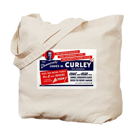 James Michael Curley Tote Bag