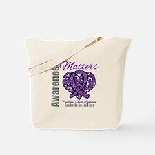PancreaticCancer MosaicRibbon Tote Bag