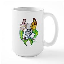 Pirate Mermaid Pin-up Mug