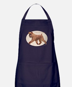 'Griff Oval/Natural Apron (dark)