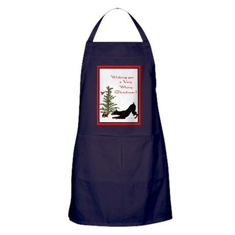 Dobe Christmas Apron (dark)