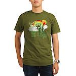 Forks Washington Organic Men's T-Shirt (dark)