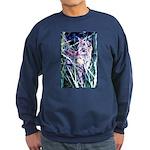 Colorful Cat Sweatshirt (dark)