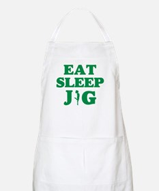 EAT SLEEP JIG Apron