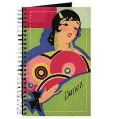 Alluring Gypsy Dancer Journal