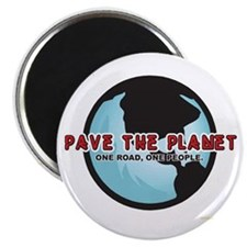 PAVE THE PLANET! Magnet