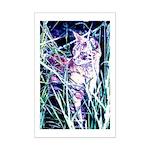 Colorful Cat Mini Poster Print