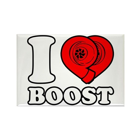 I Heart Boost Rectangle Magnet (10 pack)