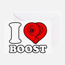 I Heart Boost Greeting Card
